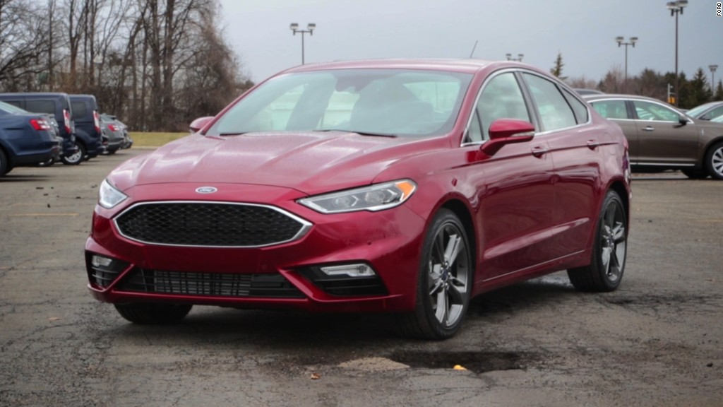 New Ford Fusion can skip over potholes
