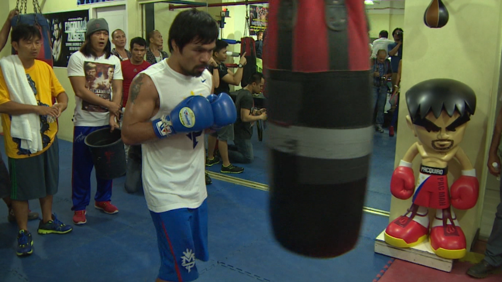 Nike drops Pacquiao over anti-gay remarks