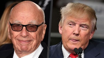 Donald Trump and Rupert Murdoch sit down for post-Brexit dinner