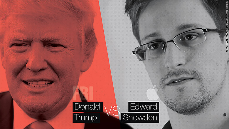 trump fbi snowden apple