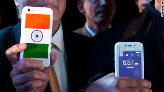 Man behind India's $4 smartphone arrested
