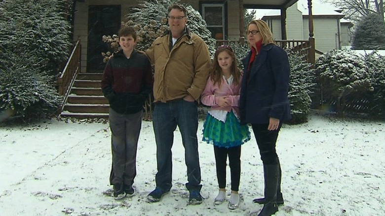 Coffy family in Ridgefield Park, New Jersey