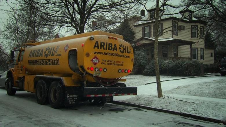Ariba Oil truck in Ridgefield Park, New Jersey
