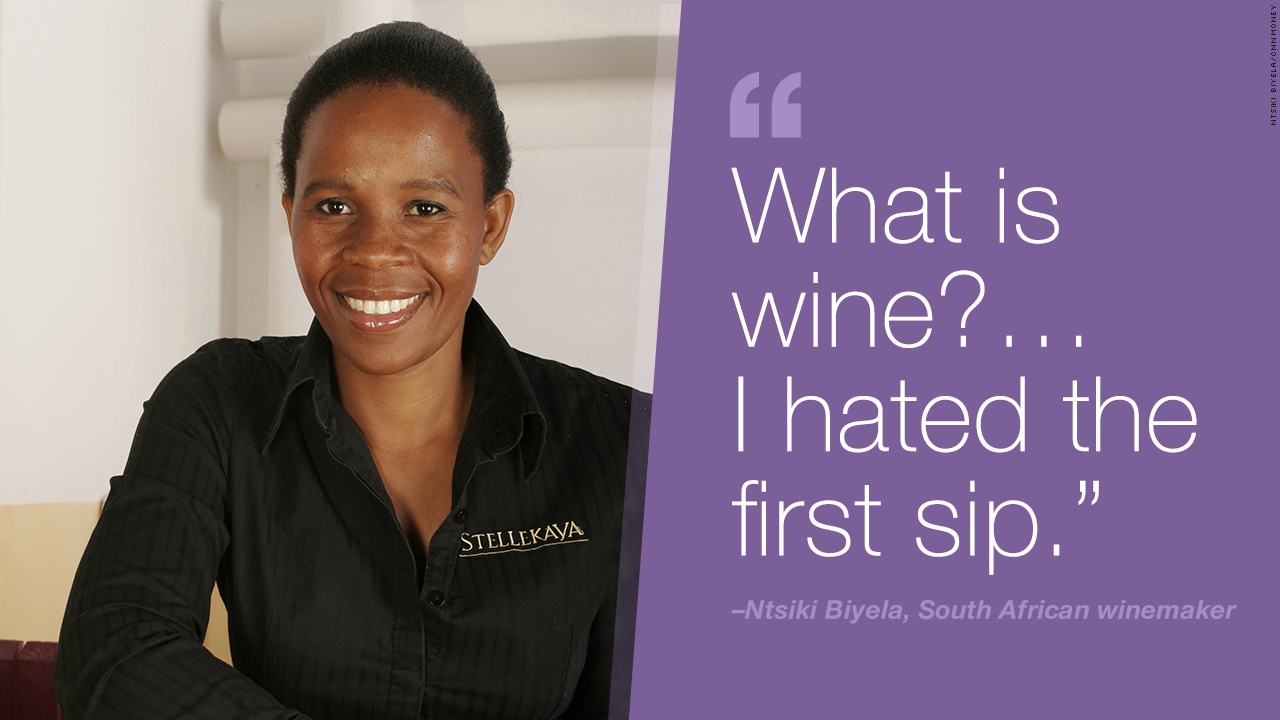 Ntsiki Biyela winemaker quote