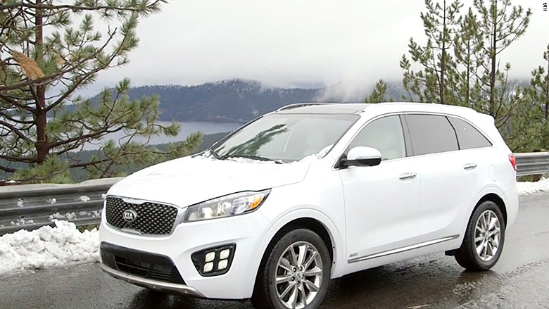mid sized suv kia sorento consumer reports 39 39 top picks 39 for cars cnnmoney. Black Bedroom Furniture Sets. Home Design Ideas