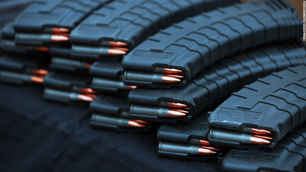 Voices from the gun show: High capacity magazines