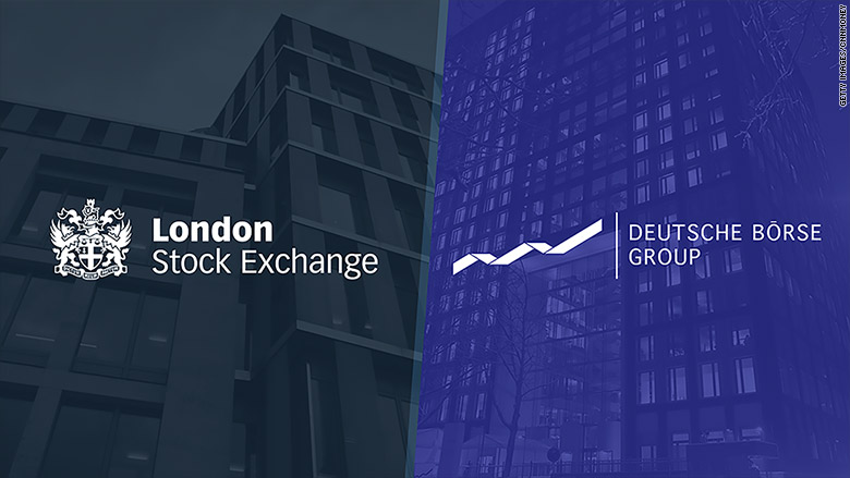 Europe blocks London Stock Exchange merger with Deutsche Boerse