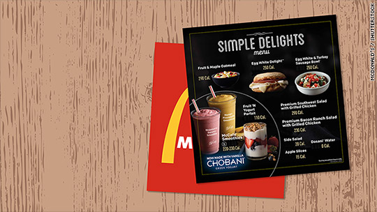 McDonald's rolls out low-cal breakfast for SoCal