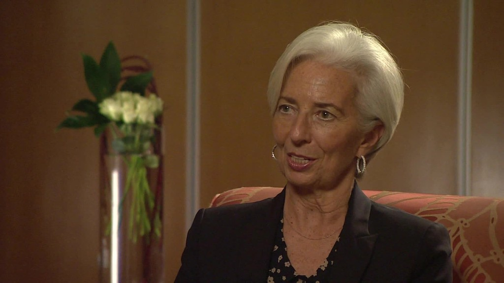 IMF chief: 'Brexit' a negative on all fronts