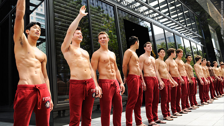 abercrombie fitch male models