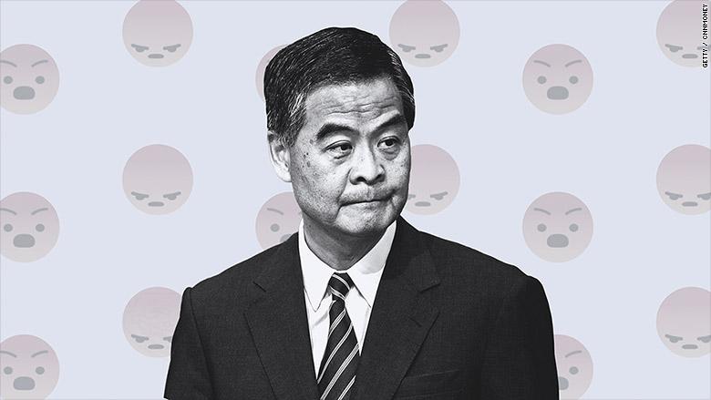 cy leung facebook troll