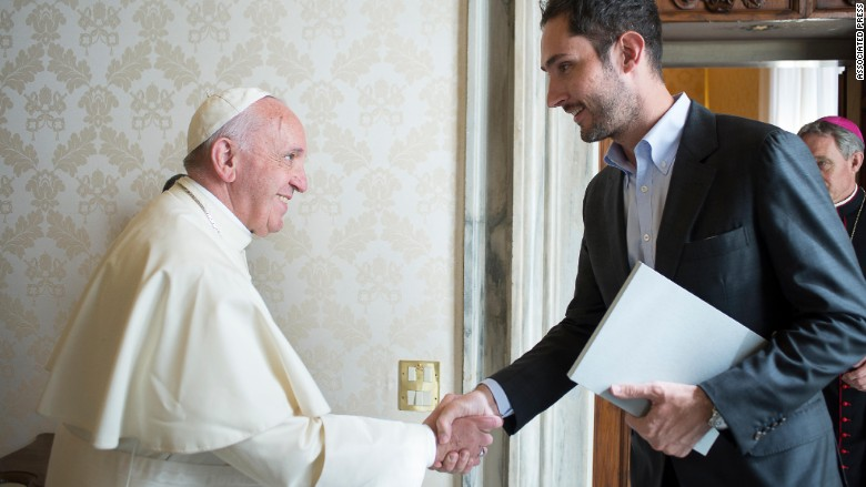 pope francis instagram ceo