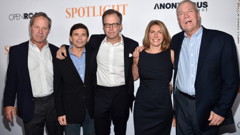 spotlight movie actual journalists