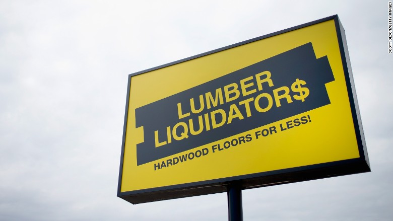 lumber liquidators sign