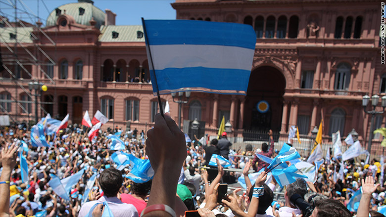 argentina inauguration