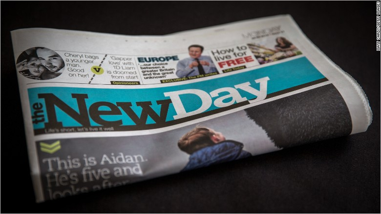 new day newspaper uk