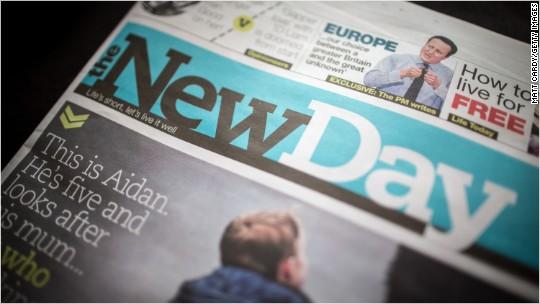 This newspaper died after just 10 weeks
