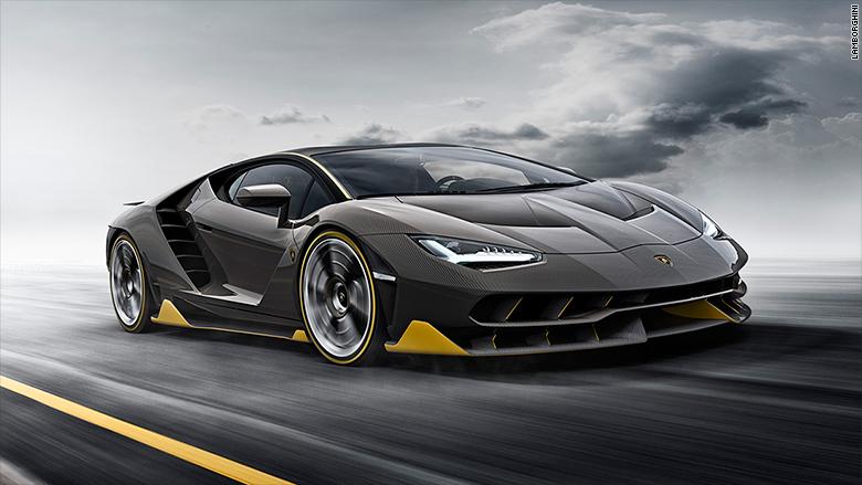 Lamborghini centenariao racing