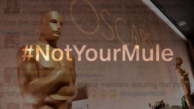 #NotYourMule race debate ignites on Twitter following Oscars