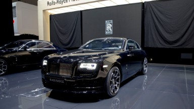 Rolls-Royce unveils Black Badge models