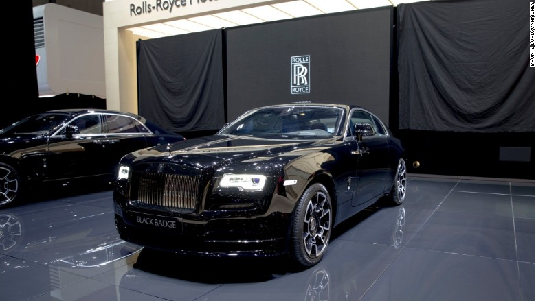 rolls royce black badge geneva wide