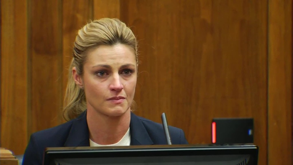 Erin Andrews' tearful testimony