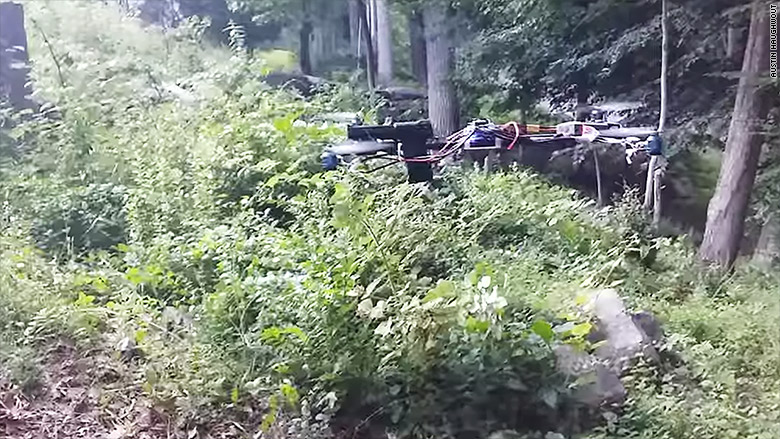 handgun drone