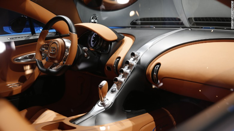 'bugatti chiron geneva interior' from the web at 'http://i2.cdn.turner.com/money/dam/assets/160301102245-bugatti-chiron-geneva-interior-780x439.jpg'