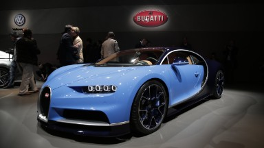 Meet the world's next fastest car: The Bugatti Chiron