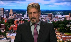 John McAfee is back...and fighting Intel and CBS