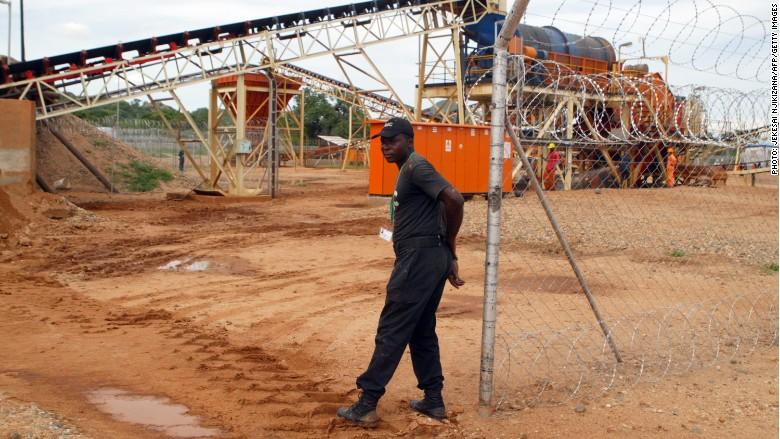 Zimbabwe diamon mine