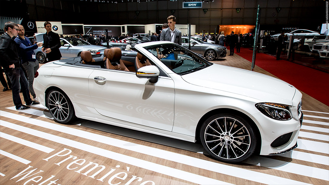 MercedesBenz CClass Cabriolet Cool Cars From The Geneva - Cool mercedes cars