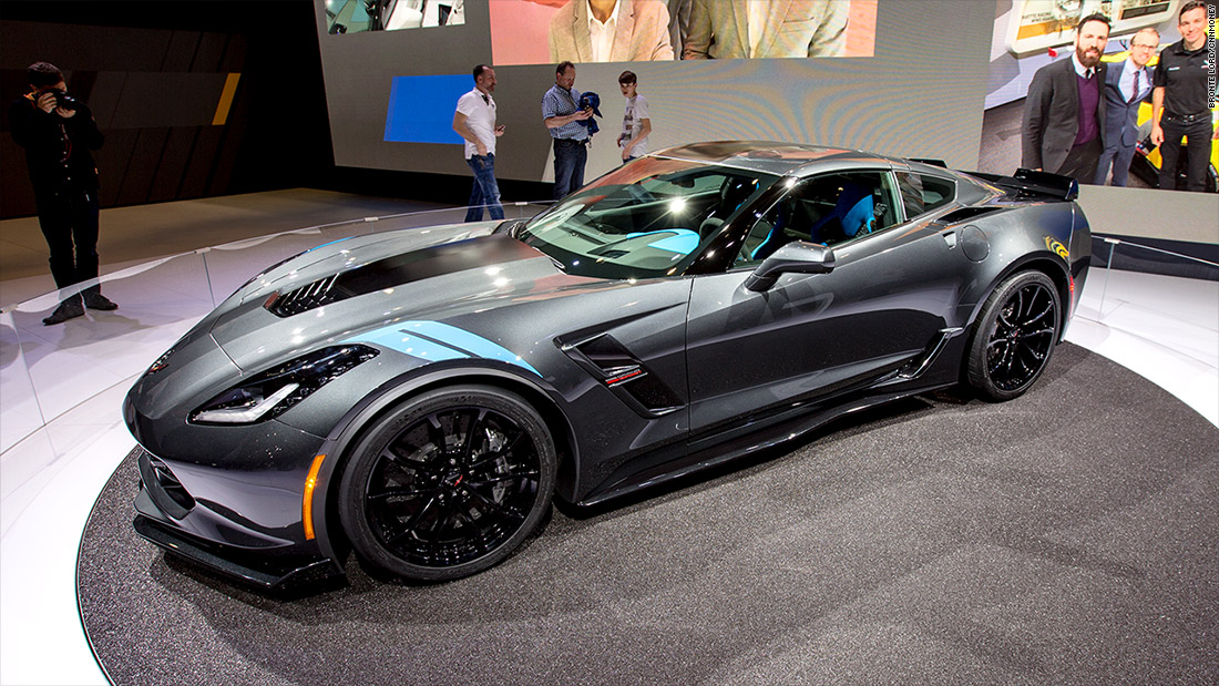 Corvette Grand Sport Cool Cars From The Geneva Motor Show - All sports cars 2016