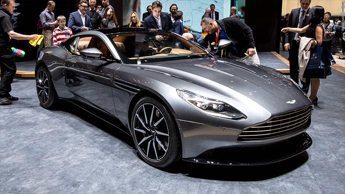 aston martin db11   cool cars from the 2016 geneva motor