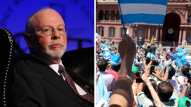 argentina hedge funds paul singer