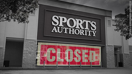 Sports Authority could close all 450 stores