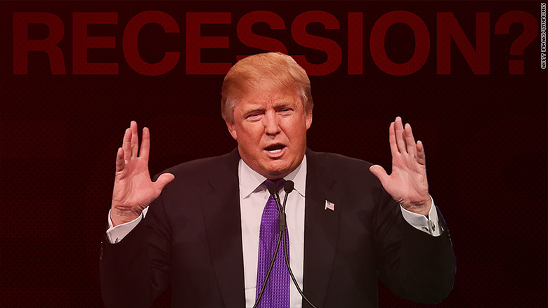 donald trump recession