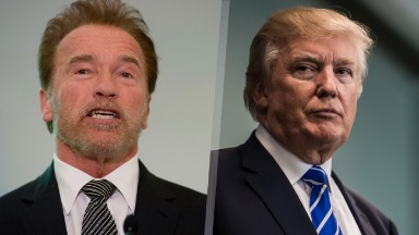 Schwarzenegger responds to Trump prayer breakfast comments: 'Let's switch jobs'