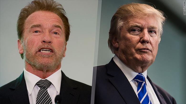 New 'Apprentice' host Arnold Schwarzenegger campaigns ...