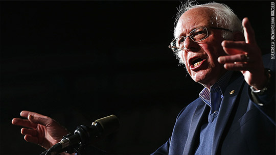 Bernie Sanders' mega tax increases largest in peacetime history