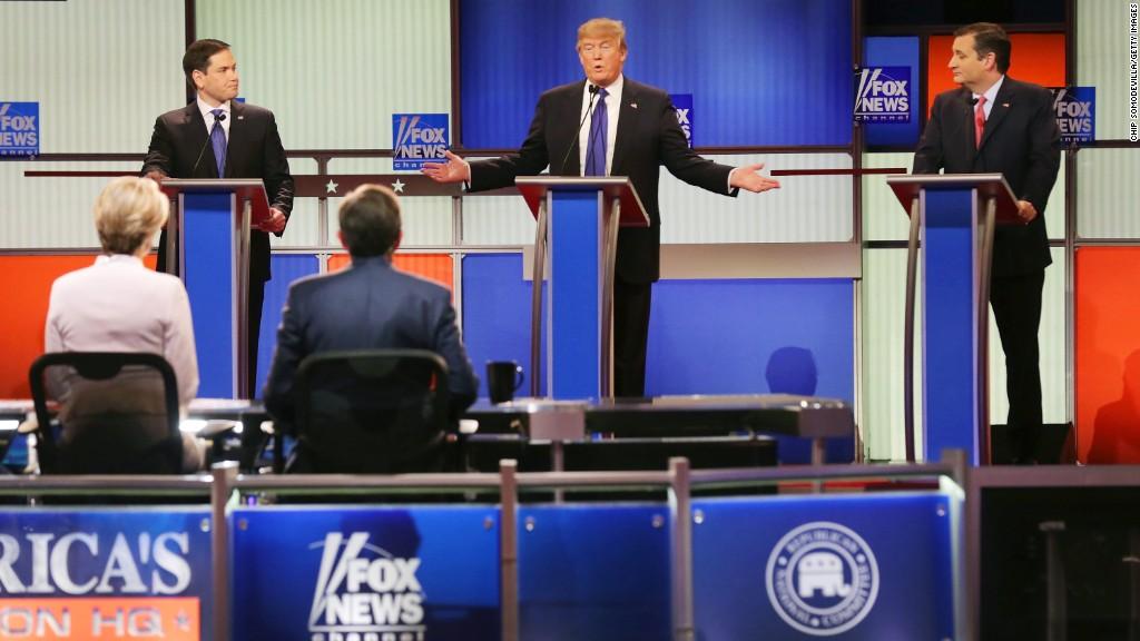 The 11th GOP debate in 90 seconds