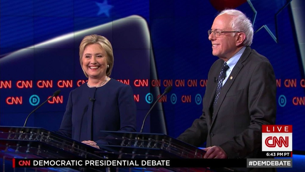 CNN's Flint Democratic Debate in 90 seconds