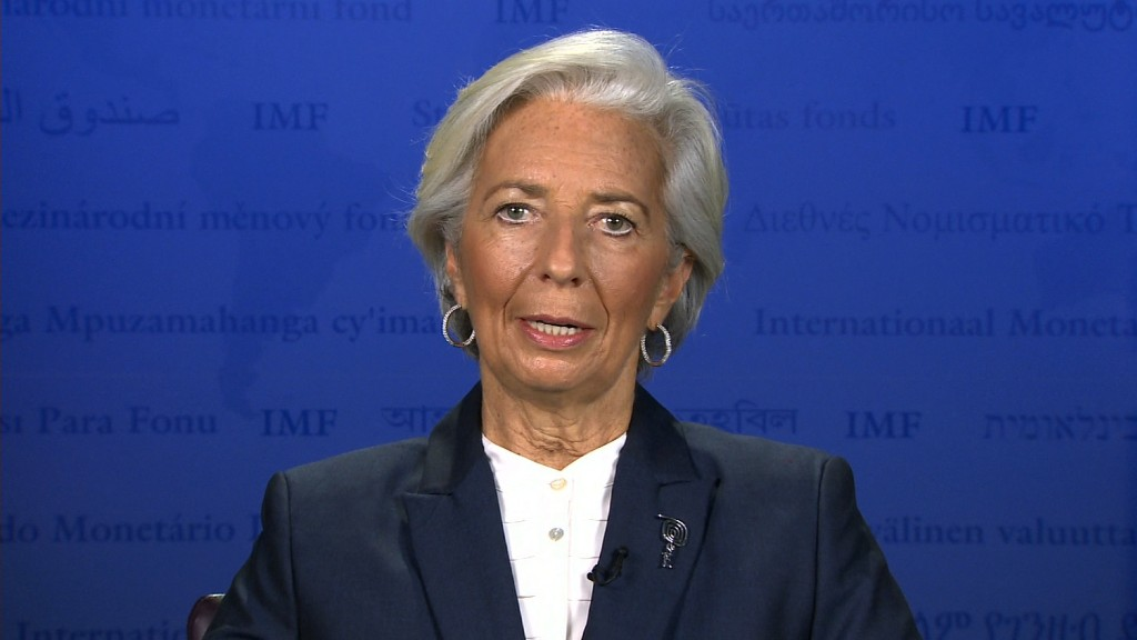 IMF Chief Christine Lagarde 'frustrated' by gender pay gap