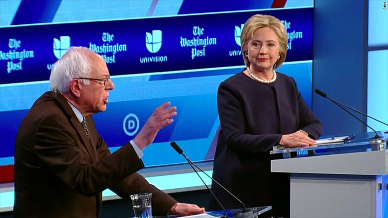 dem debate mar 9 clinton sanders 1