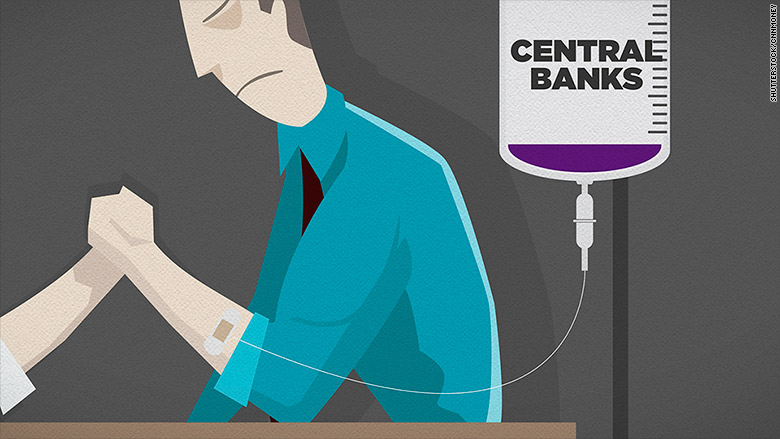 central banks arm wrestle