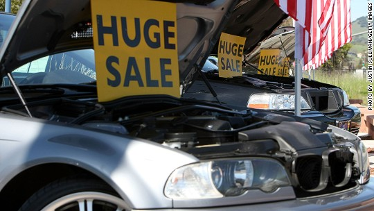6 million borrowers are 90 days late on their car loans