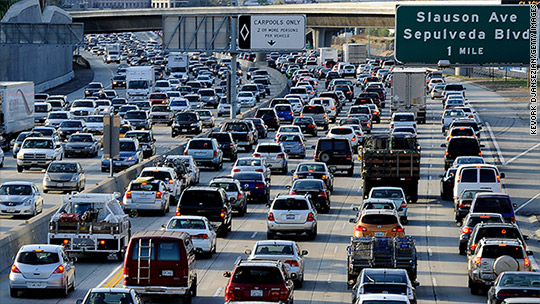 World's worst cities for rush hour traffic