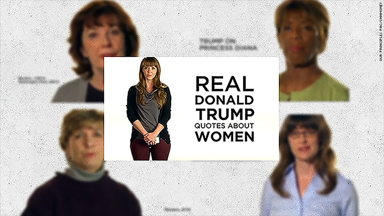real women anti trump ad