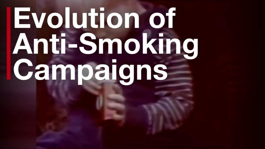 The evolution of anti-smoking campaigns