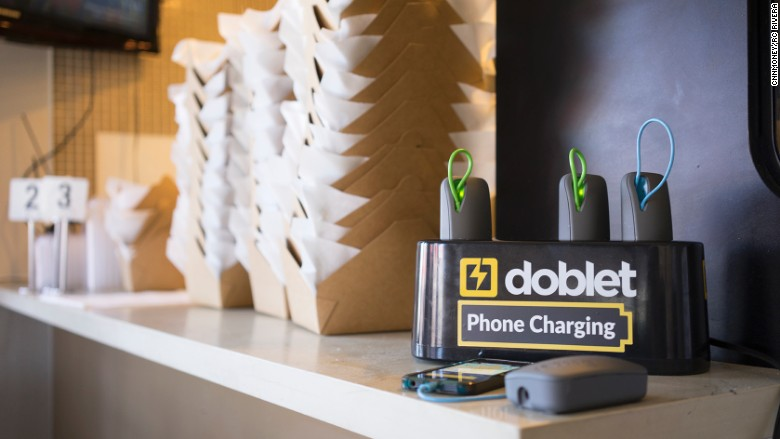Doblet chargers